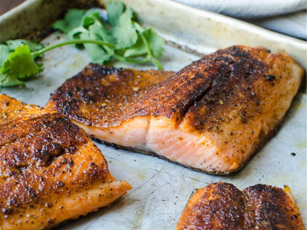 Coho salmon fry